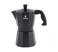 VINZER Гейзерная кофеварка 89395 Moka Nero на 6 чашек