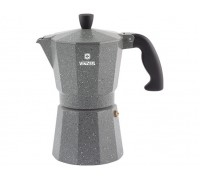 VINZER Гейзерная кофеварка 89398 Moka Granito на 6 чашек