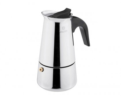 VINZER Гейзерная кофеварка 89393 Moka Inox Induction на 9 чашек
